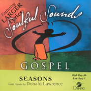 Seasons, Accompaniment CD   -     By: Donald Lawrence