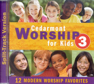 Cedarmont Worship for Kids: Volume 3 (with Split Tracks), CD   -