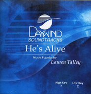 He's Alive, Accompaniment CD   -     By: Lauren Talley