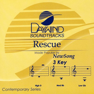 Rescue, Accompaniment CD   -     By: NewSong
