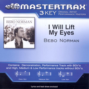 I Will Lift My Eyes, Accompaniment CD   -     By: Bebo Norman