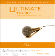 Alive - Medium Key Performance Track with Background Vocals  [Music Download] -