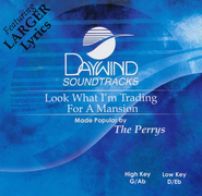 Look What I'm Trading For A Mansion, Accompaniment CD   -     By: The Perrys