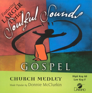 Church Medley, Accompaniment CD   -     By: Donnie McClure
