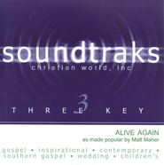 Alive Again, Accompaniment CD   -              By: Matt Maher