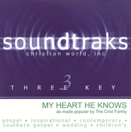 My Heart He Knows, Accompaniment CD   -     By: The Crist Family