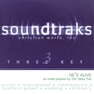 He's Alive, Accompaniment CD   -     By: The Talley Trio