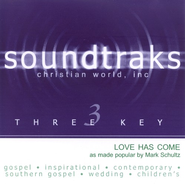 Love Has Come, Accompaniment CD   -              By: Mark Schultz