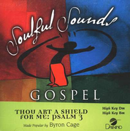 Thou Art A Shield For Me: Psalm 3, Accompaniment CD   -     By: Byron Cage