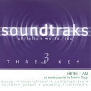 Here I Am, Accompaniment CD   -     By: Marvin Sapp