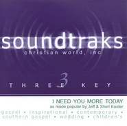 I Need You More Today, Accompaniment CD   -     By: Jeff Easter, Sheri Easter