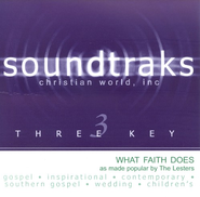 What Faith Does, Accompaniment CD   -              By: The Lesters
