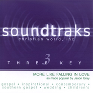 More Like Falling In Love, Accompaniment CD   -     By: Jason Gray