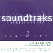 Behold The Lamb, Accompaniment CD   -     By: Lauren Talley