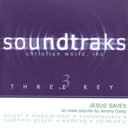 Jesus Saves, Accompaniment CD   -     By: Jeremy Camp