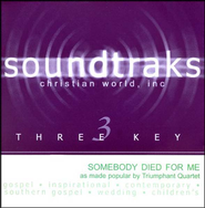 Somebody Died For Me, Accompaniment CD   -     By: Triumphant Quartet