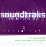 Love So Amazing, Accompaniment CD   -     By: Aaron Crabb, Amanda Crabb