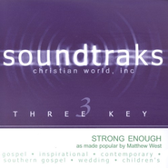 Strong Enough, Accompaniment CD   -     By: Matthew West