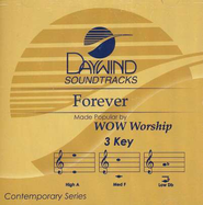 Forever, Accompaniment CD   -     By: WOW Worship