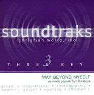 Way Beyond Myself, Accompaniment CD   -     By: Newsboys