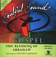The Blessing of Abraham, Accompaniment CD   -     By: Donald Lawrence