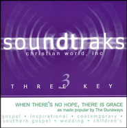 When There's No Hope, There Is Grace Accompaniment CD  -     By: The Dunaways