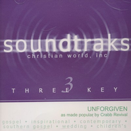 Unforgiven, Accompaniment CD   -     By: Crabb Revival