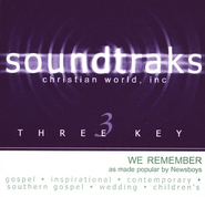 We Remember, Accompaniment CD   -     By: Newsboys