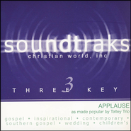 Applause, Accompaniment CD   -     By: The Talley Trio