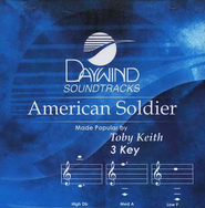 American Soldier, Accompaniment CD   -     By: Toby Keith