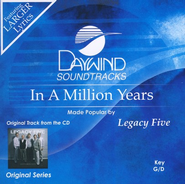 In A Million Years, Accompaniment CD   -              By: Legacy Five