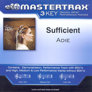 Sufficient, Accompaniment CD   -     By: Adie