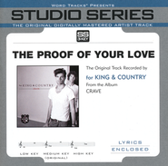 The Proof Of Your Love (Original Key with Background Vocals)  [Music Download] -              By: for KING & COUNTRY