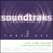 Love Came Calling, Accompaniment CD   -     By: The Triumphant Quartet