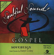Sovereign, Accompaniment CD   -     By: Daryl Coley
