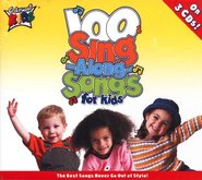 100 Singalong Songs for Kids, 3 CDs   -     By: Cedarmont Kids