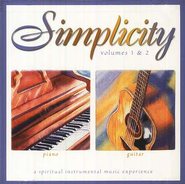 Simplicity Volumes 1 & 2: Piano/Guitar CD   -