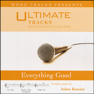 Everything Good (Medium Key Performance Track With Background Vocals)  [Music Download] -