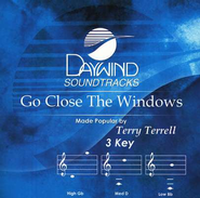 Go Close the Windows, Accompaniment CD   -     By: Terry Terrell