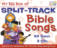 My Big Box of Split-Track Bible Songs, 3 CDs   -