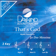 That's God, Accompaniment CD   -     By: Jo Dee Messina
