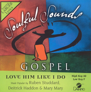 Love Him Like I Do, Accompaniment CD   -              By: Ruben Studdard