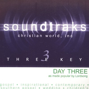 Day Three, Accompaniment CD   -     By: Lordsong