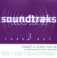 There's A Place For Us, Accompaniment CD   -     By: Carrie Underwood