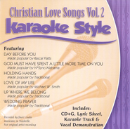 Christian Love Songs, Volume 2, Karaoke Style CD   -