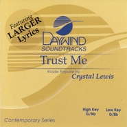 Trust Me, Accompaniment CD   -     By: Crystal Lewis