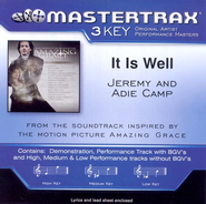 It Is Well (With My Soul) ((feat. Adie Camp) High Key-Premiere Performance Plus w/o Background Vocals)  [Music Download] -     By: Jeremy Camp