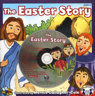 The Easter Story--Book and CD   -