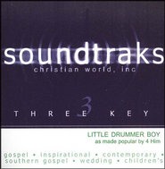 Little Drummer Boy, Accompaniment CD   -     By: 4Him