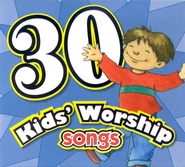 30 Kids' Worship Songs CD   -
